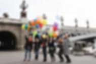 День рожденье в Париже. Фотограф на праздник