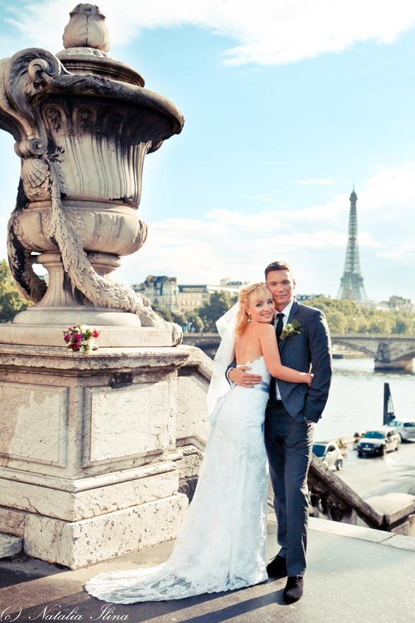 Прогулка - фотосессия в Париже