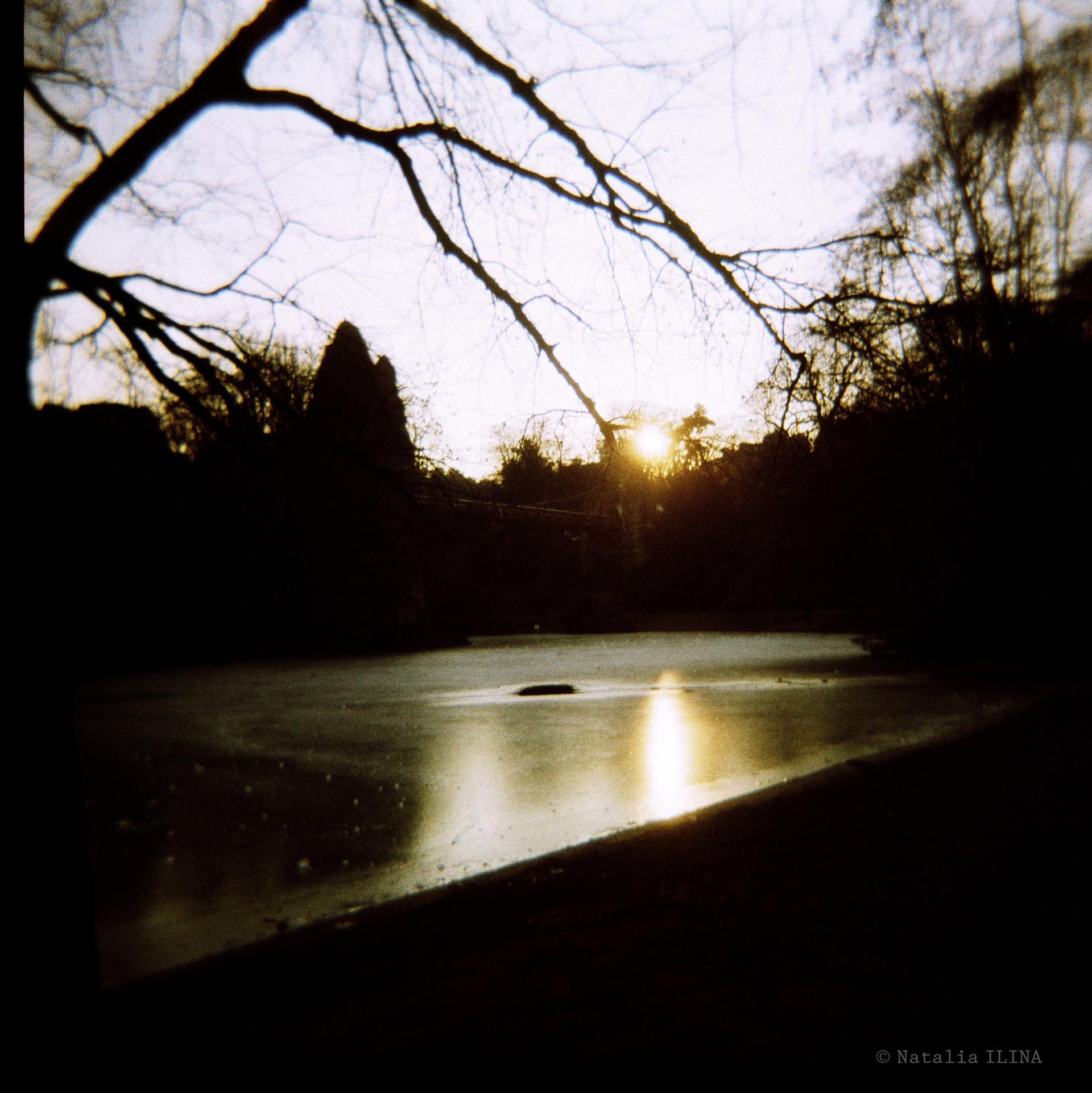 Ночная фотография But-Chaumont