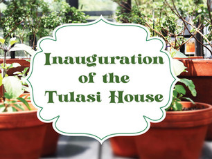 Inauguration of the Tulasi House Cancelled