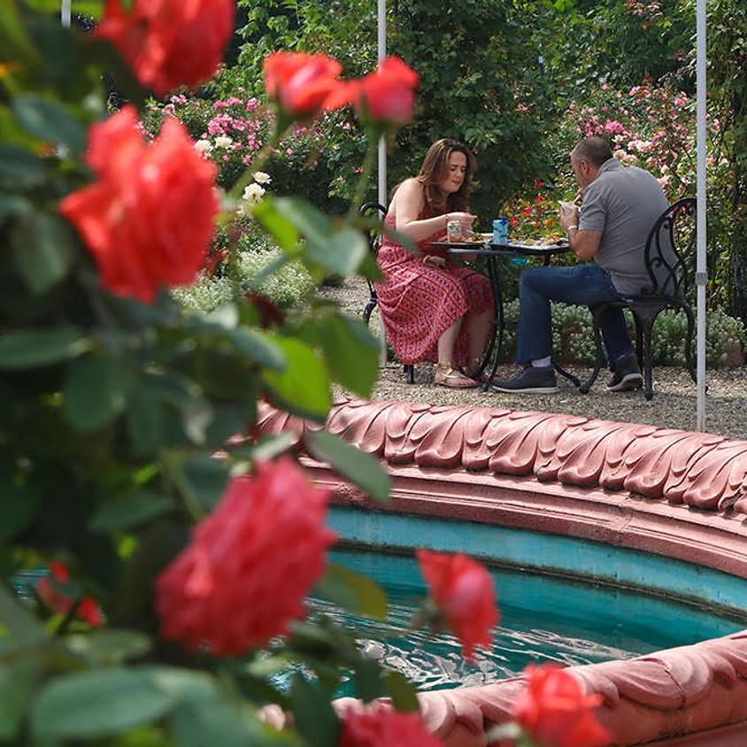 Last Sunday Rose Garden Brunch
