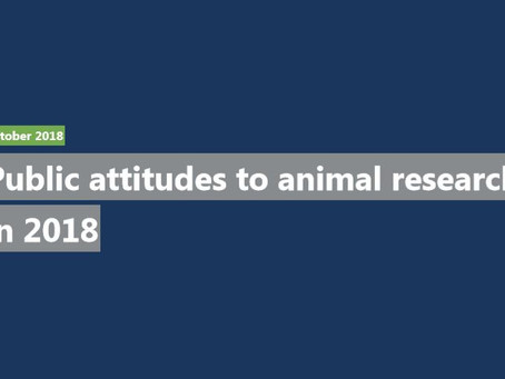 Insight into views of UK public with opinion poll on animal research