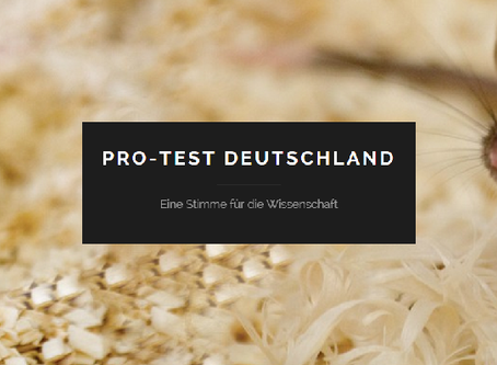 Pro-Test Deutschland: Yes to research in Germany!