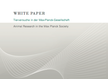 Max Planck Society publishes White Paper on animal research