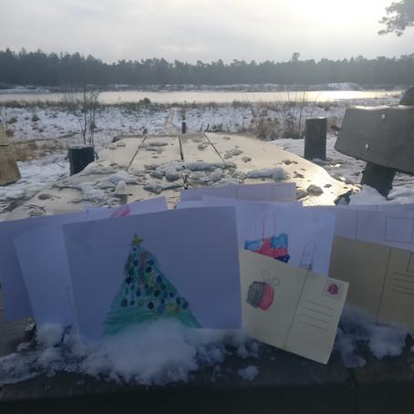 Tutorial: come creare cartoline natalizie e salvare una mattina complessa