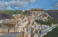 Ragusa Ibla, Afternoon Sun