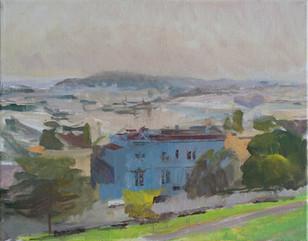 San Francisco, from Alta Vista Park in Fog