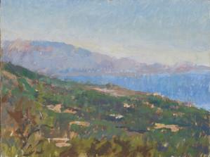 Zakynthos, looking towards Kefalonia no.1 - Sold