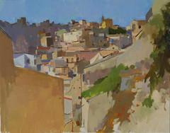 Ragusa Ibla, Looking West - Sold