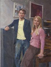 Michael Lebus and Caroline Lebus