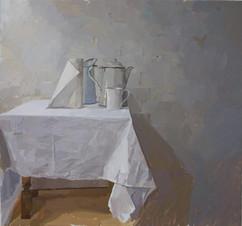 White Still Life - Sold