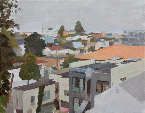 From Will's Balcony - Sold