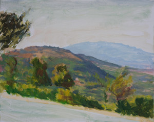 Zakynthos, trees by the pool no. 2 - Sold