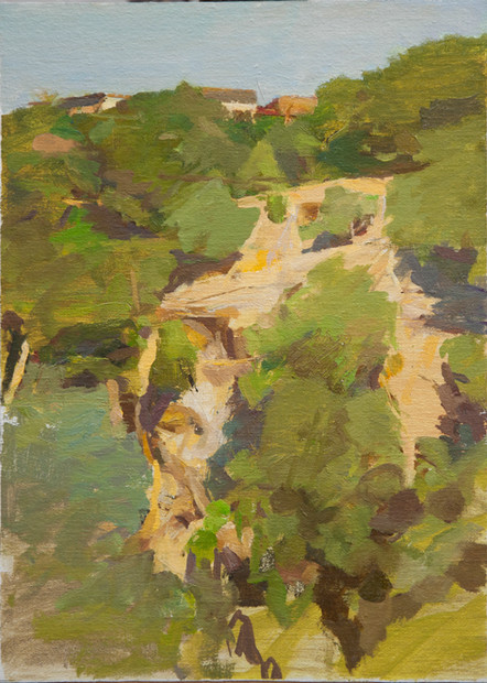 Across The Gorge, Civita Castellana - Sold