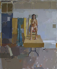 Nude on a Table - Sold
