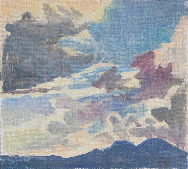 Dramatic Clouds, Montenegro - Sold