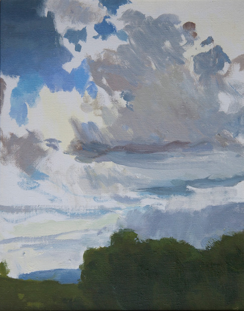 Cloudy Sky, Lucigniano - Sold