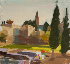From Damascus Gate, Looking West - Sold