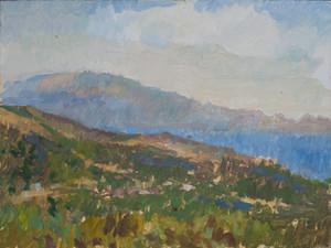 Zakynthos, looking towards Kefalonia no.2 - Sold