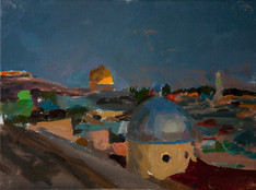 Two Domes, Twighlight - Sold