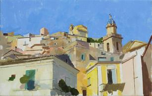 Ragusa Ibla, Morning Sun -Sold