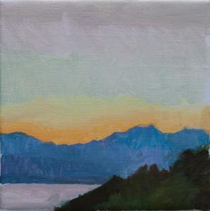 Montenegro Sunrise - Sold