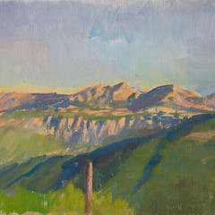 Late Afternoon Shadows, Montenegro - Sold