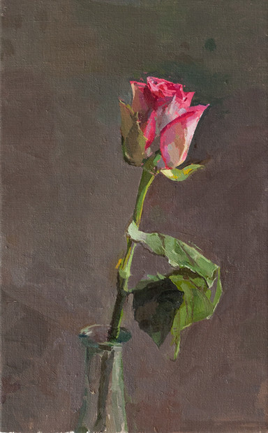 February Rose - Sold