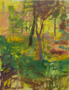 Trees on The Hillside, Luberon