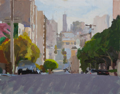 From Lafayette Park, looking East - Sold
