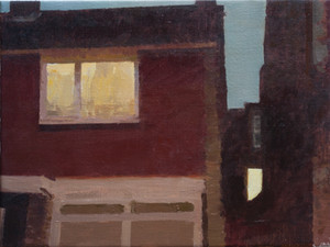 View from The Studio, Evening - Sold