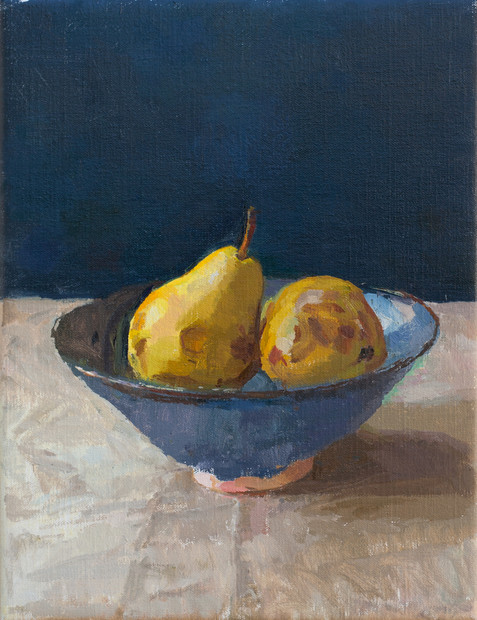 Pears in a Bowl - Sold