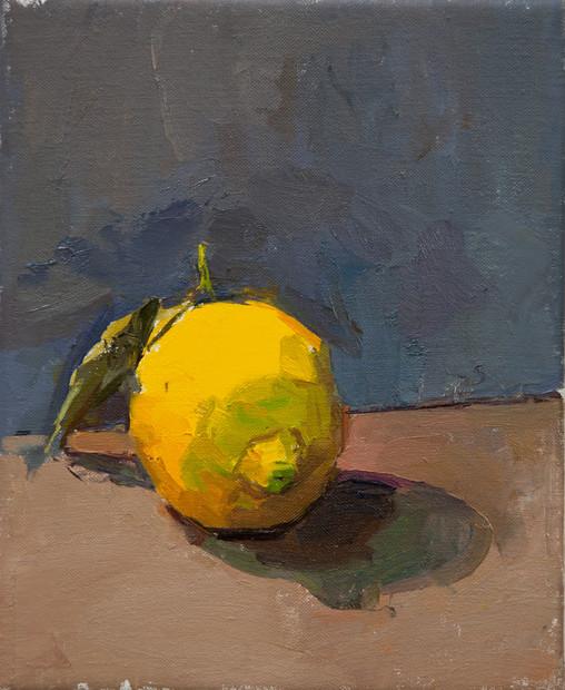 Brightly Lit Lemon (no. 2)