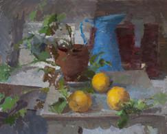 Karn's Geranium and Three Lemons - Sold