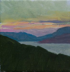 Montenegro Sunset - Sold