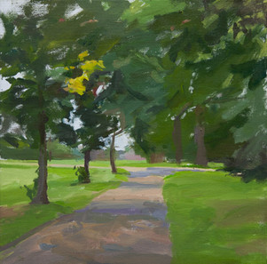 Kensington Palace in The Distance - Sold