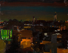 From The Austrian Hospice Looking West, Dusk - Sold