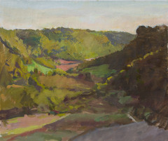 Pink and Green Fields, Civita Castellana