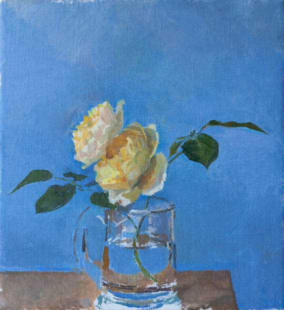 Yellow Rose - Sold