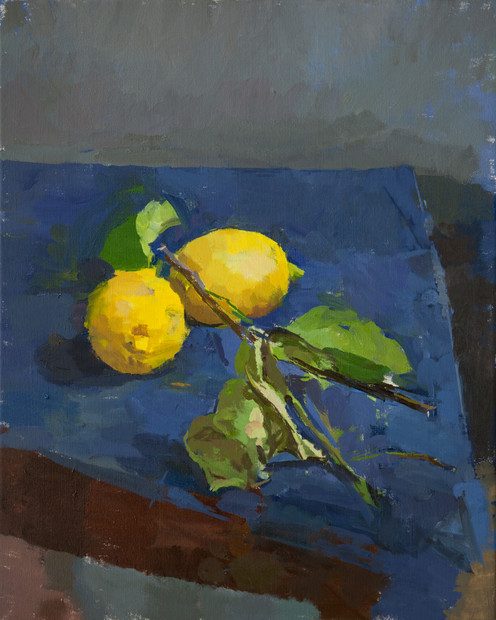 Lemons and Branches - Sold