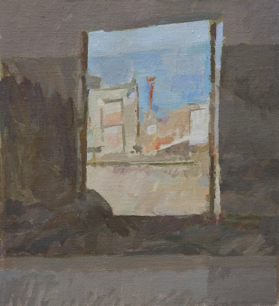 Reflection, Civita Castellana - Sold