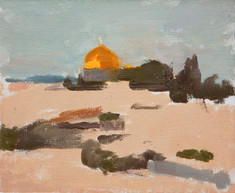 Dome Of The Rock, Sunset - Sold