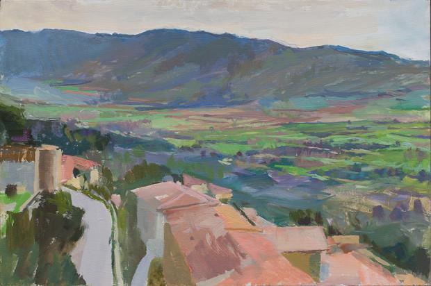 Cortona, Hills in the Distance