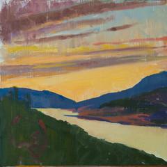 Montenegro Sunset, Yellow Sea