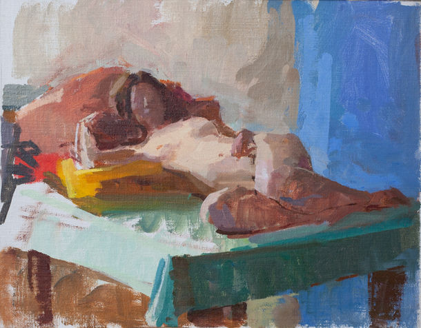 Reclining Nude, Fiona - Sold
