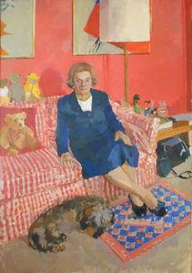 Barbara Lebus and Edwina