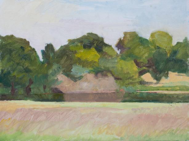The Long Water, Kensington Gardens - Sold