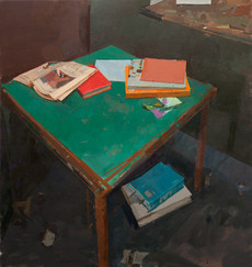 Books on a Table no.1 (with F.T.) - Sold
