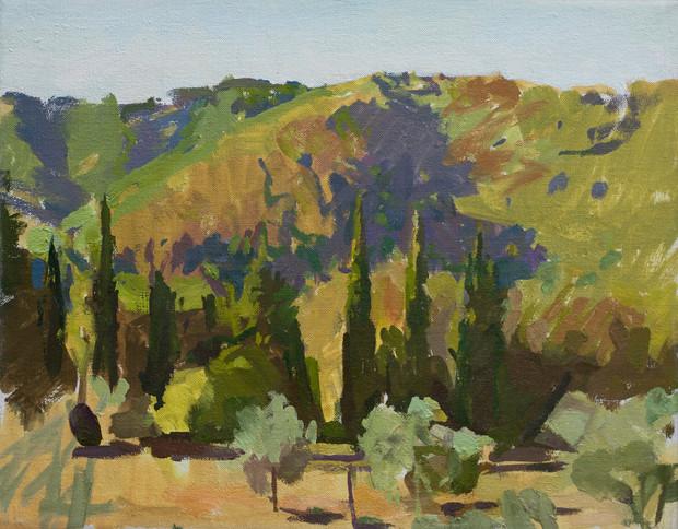 Three Cypresses, Chianti - Sold