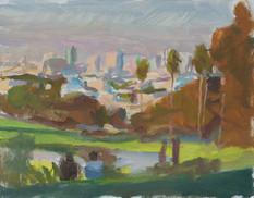 Dolores Park, Sunset